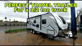 PERFECT SIZE TRAVEL TRAILER for a 1/2ton pickup!