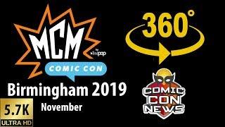 Gambar cover MCM Comic Con Birmingham 2019 Tour - 360 Video