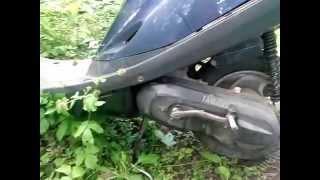 видео Правильная обкатка скутера