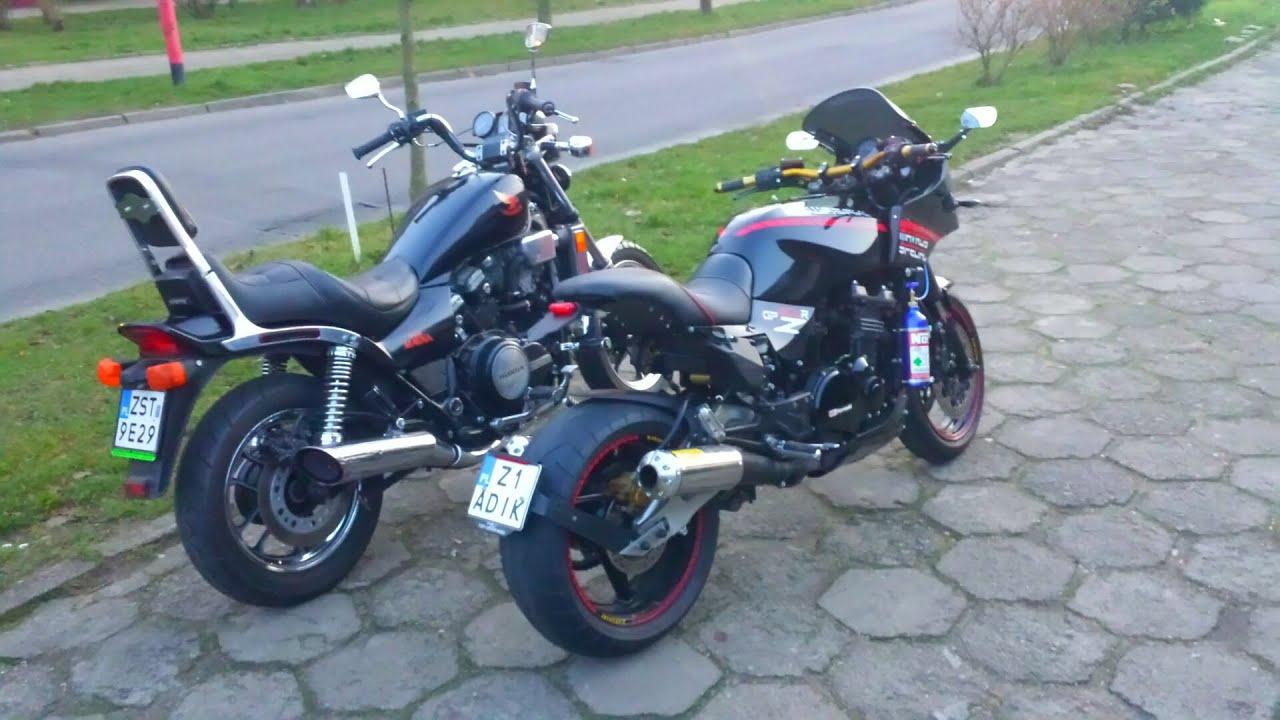 Kawasaki Gpz  R Cafe Racer