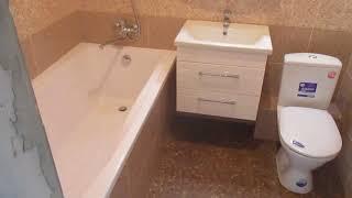 Обзор ванной комнаты!г.Брянск!