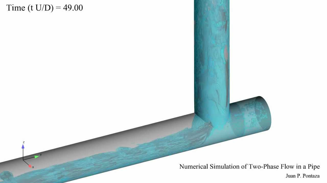 Two Phase Flow in Pipe - YouTube