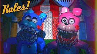 BONBON y BONNET me lo ponen MUY DIFÍCIL - Baby's Nightmare Circus (FNAF Game)