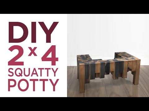 Diy Squatty Potty Modern Maker Two2x4challenge Submission Diy