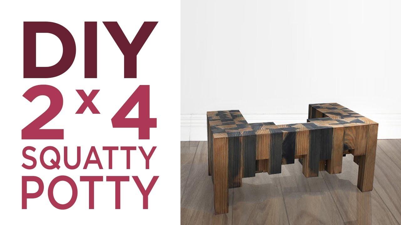 DIY 2 x 4 Squatty Potty | Modern Maker Podcast Challenge | 12 | The ...
