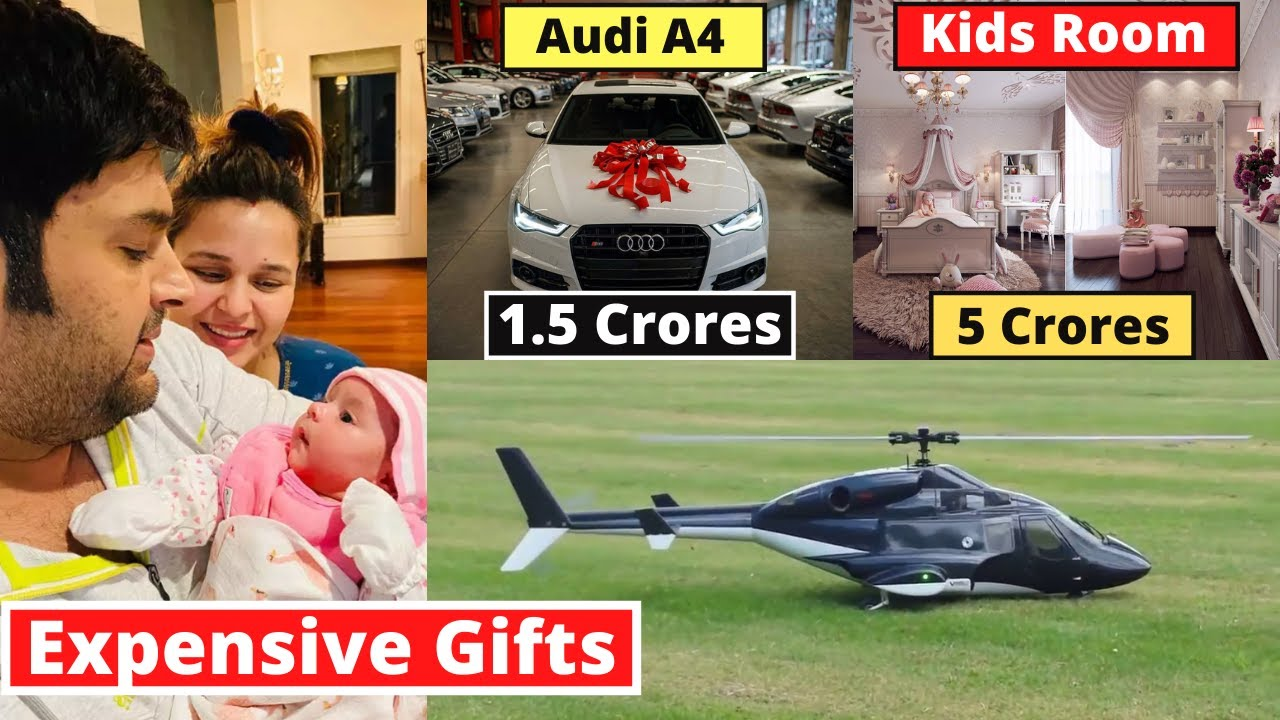 Kapil Sharma's Son 10 Most Expensive Birthday Gifts From Bollywood Stars