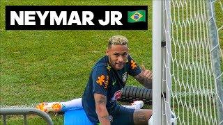 Тренировка сборной Бразилии: финты Неймара на 433, гол с 35 метров от Луиса и пенальти челлендж.