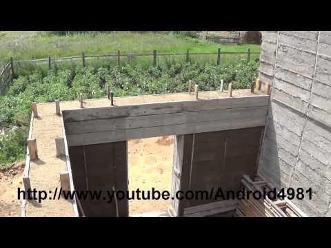 видео: Дом из опилкобетона ОССОБЕННОСТИ СТРОИТЕЛЬСТВА