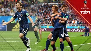 Japan scores TWO WORLD-CLASS goals to take stunning lead over Belgium