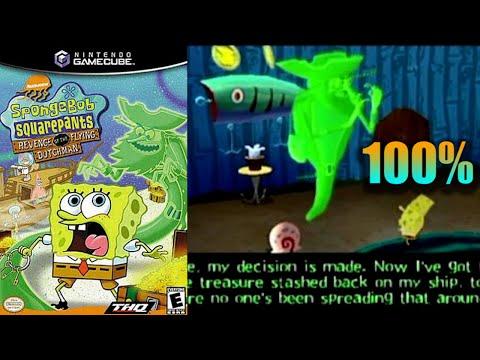SpongeBob SquarePants: Revenge of the Flying Dutchman [20] 100% GameCube Longplay