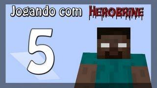 Jogando com Herobrine - Ep 5 - Sustos!