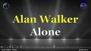 Alan Walker - Alone KARAOKE
