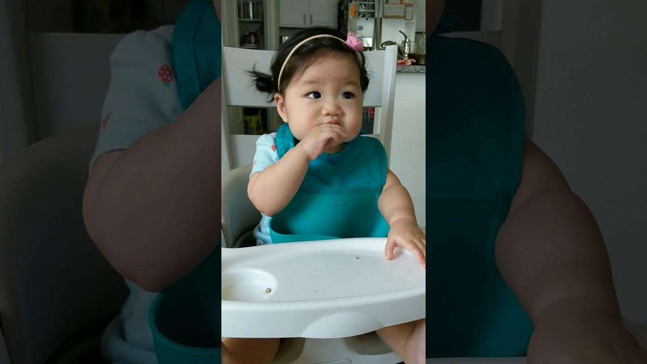 schweetpea | baby led weaning DAY 102 - baby mukbang ...