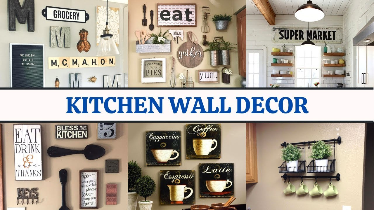 Kitchen Wall Decorating Ideas To Make Your Lovely Easy And Budget Friendly Youtube