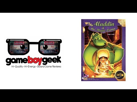 Tales & Games: Aladdin & the Magic Lamp Review with the Game Boy Geek