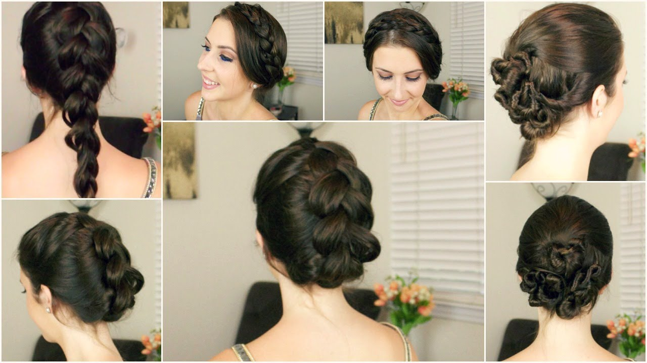 Quick & Easy Hairstyles For Wet Hair Courtney Lundquist YouTube