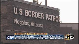 1,000 undocumented children heading to Arizona