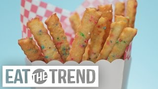How to Make Deep Fried Cookie Fries | Eat the Trend