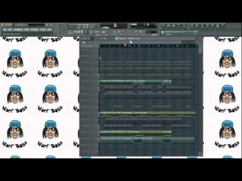 Vybz Kartel-Miami Vice Episode- Fl Studio Remake By Jimps & ChickYn