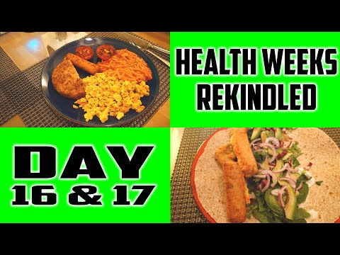 HWR | Days 16 & 17 | Meals and moving forward