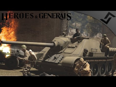 SU-85 Forest Stalker - Heroes and Generals - Russian Tank Destroyer Gameplay