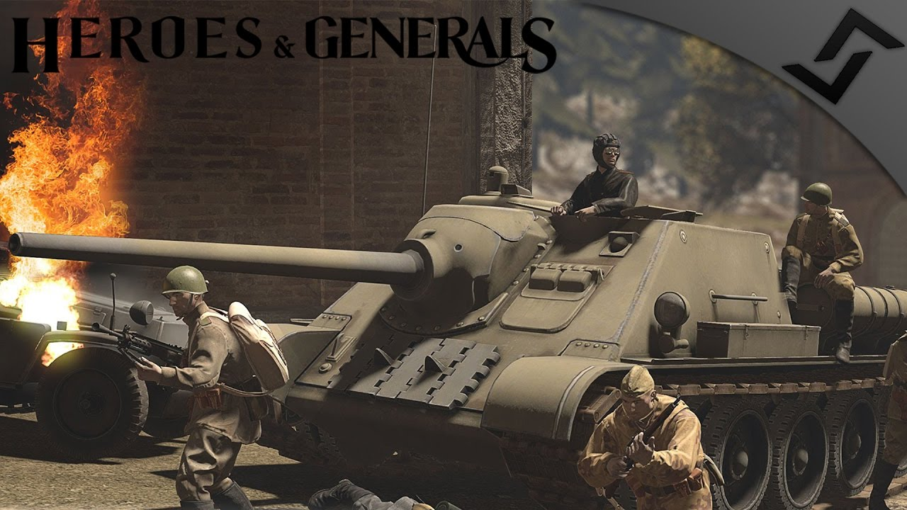 SU-85 Forest Stalker - Heroes - 165.5KB