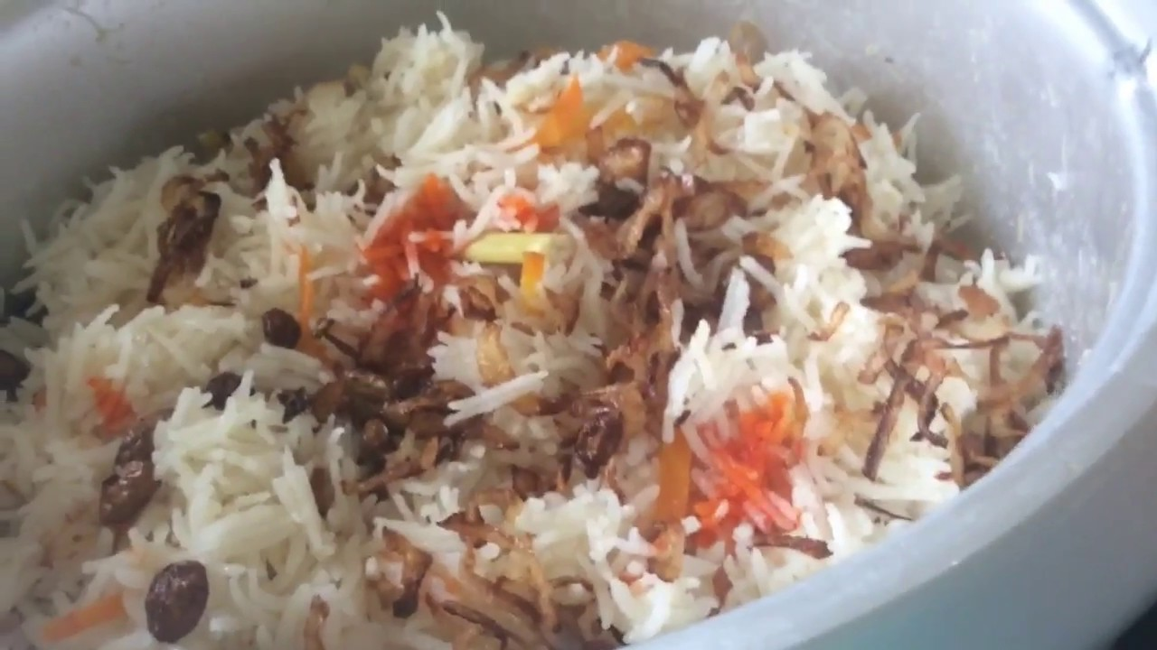 Biryani Recipe Nasi Biryani Malaysian Biryani For Beginners