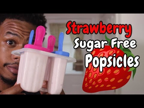 strawberry-sugar-free-popsicles