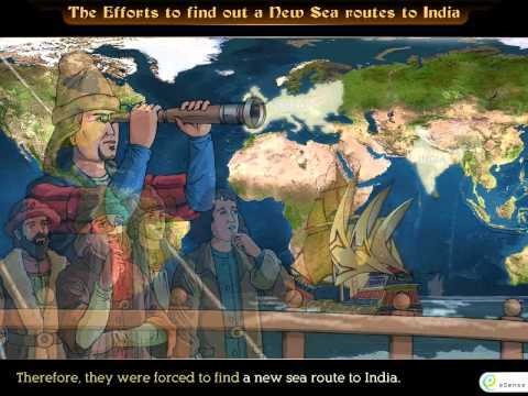 Efforts to find out new sea routes to India