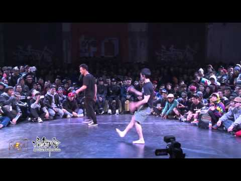 BBOY VS 猫仔 CHINA  BBOY C-LIL | HUSTLE & FREEZE SEMIFINAL BATTLE
