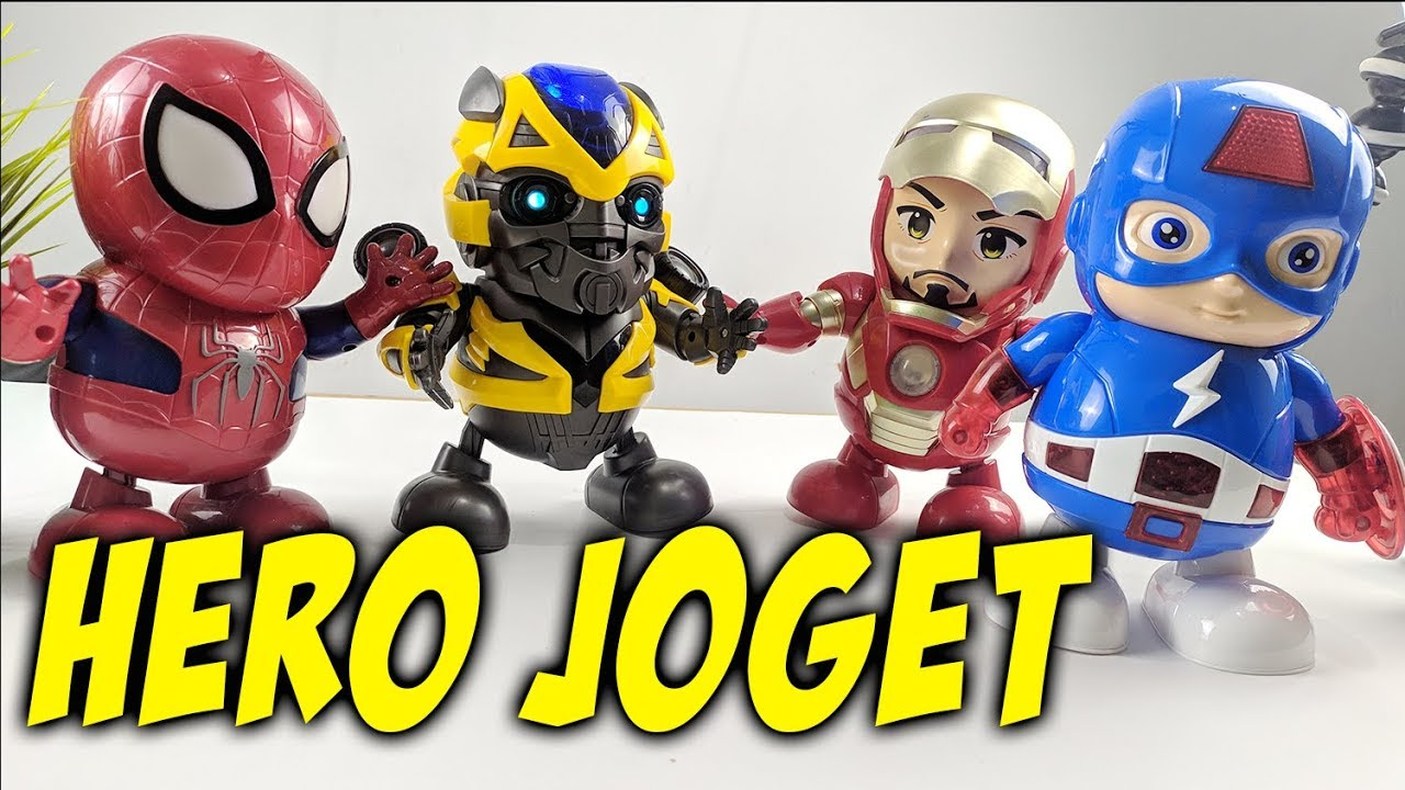 Review Robot Hero Dancing LED SUPER HERO DANCING