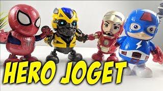 Review Robot Hero Dancing LED, SUPER HERO DANCING?