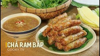 #CookyVN - Cách làm RAM BẮP đặc sản xứ Quảng giòn giòn ngon ngon thơm lừng cả xóm - Cooky TV