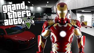 GTA 5 Mods - IRON MAN MOD w/ TONY STARK'S MANSION! (GTA 5 Mods Gameplay)
