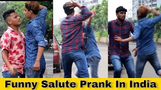 Funny Salute Prank | Prank In India | Epic Reactions | 2020 | D.I.B |
