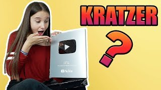 UNGLAUBLICH , YouTube Play Button / Unboxing  - Celina