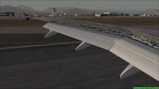FS2004 - Landing at Ibiza (Spain) with AEROLLOYD A320.mp4