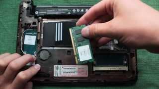 инструкции по разборке ноутбука HP compaq mini (замена термопасты)