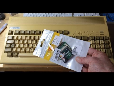 Amiga 1200 Compact Flash Harddisk Replacement