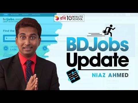 1. BDJobs Update | Niaz Ahmed