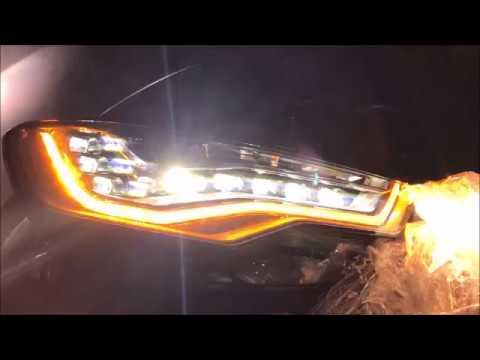 Audi A6 C7 Full LED Dynamic Blinkers | FunnyCat TV
