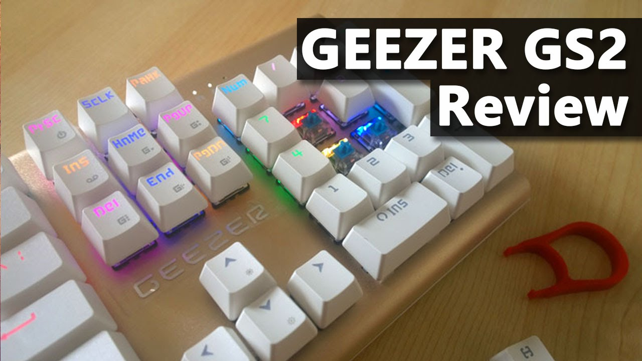 Geezer GS2 mechanical keyboard review
