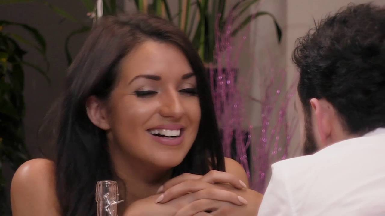 Vogue Williams on Brian and Sarah   First Dates Ireland   RT