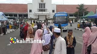 Kadishub Banjarbaru Turun Langsung Mengkoordinir Jamaah Haul Ke 15