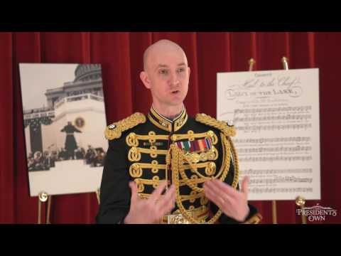 "Inauguration 2017 - Director, U.S. Marine Band - ""The President's Own"""