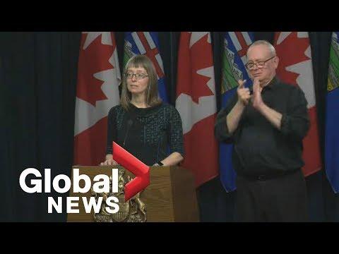 Coronavirus outbreak: Alberta reports first death from COVID-19   FULL