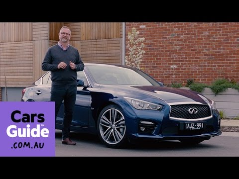 Infiniti Q50 Red Sport 2016 review | first drive video