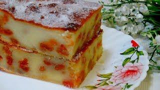 Изумительная Запеканка Творожная. Рецепт школьного повара!\Cheesecake!