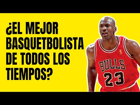 La Historia de Michael Jordan: El Mejor Basquetbolista del Mundo 🏀💪