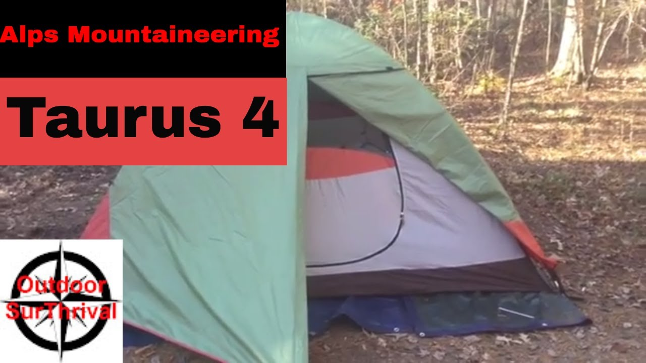 Taurus 4 Alps Mountaineering - Great 4 Person Tent Under $100 [Outdoor SurThrival] & Taurus 4 Alps Mountaineering - Great 4 Person Tent Under $100 ...